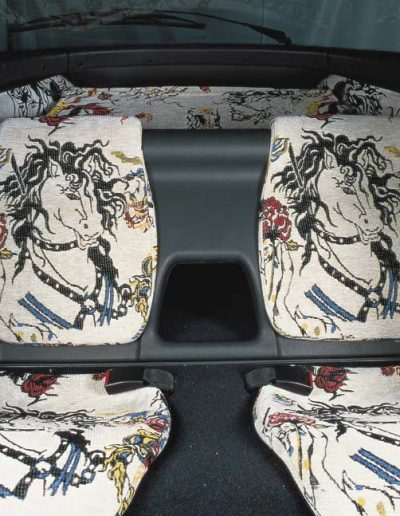Opel Tigra diseño interior, 1995