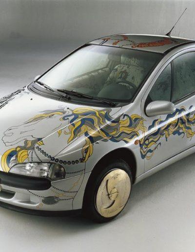Opel Tigra diseño exterior, 1995