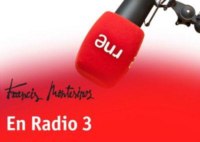 La banda sonora de mi vida. Radio 3. RTVE, 2017.