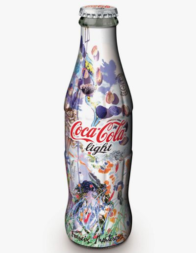 Diseno de botella de Coca-Cola Light