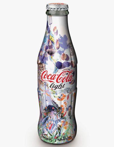 Diseno de botella de Coca-Cola Light