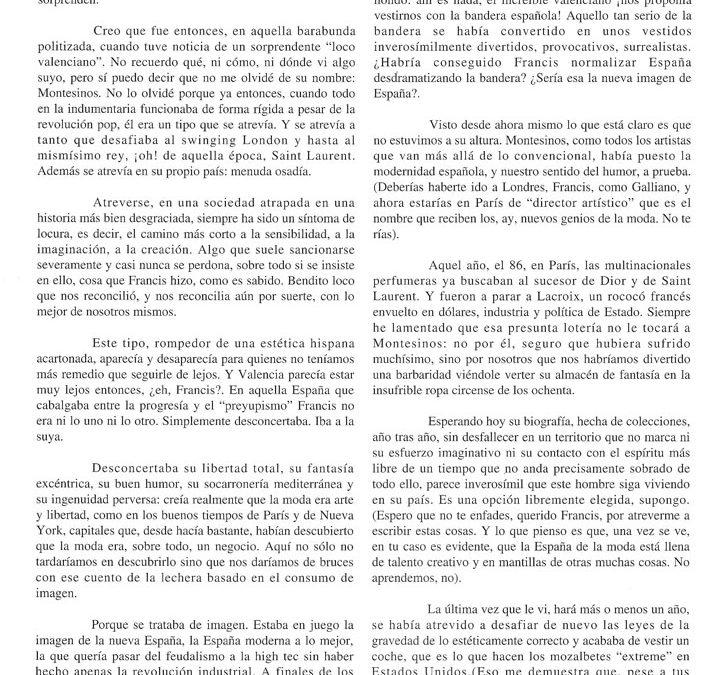 Publicación de Margarita Riviére. Barcelona, 1996
