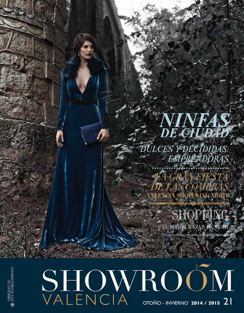 Portada de revista Showroom Valencia, 2014