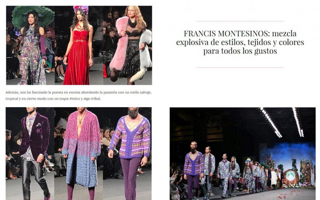 Publicación en la revista digital BFACEMAG. Madrid Fashion Week, 2017
