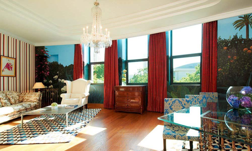 Interior design francis montesinos web oficial for Hotel diseno valencia