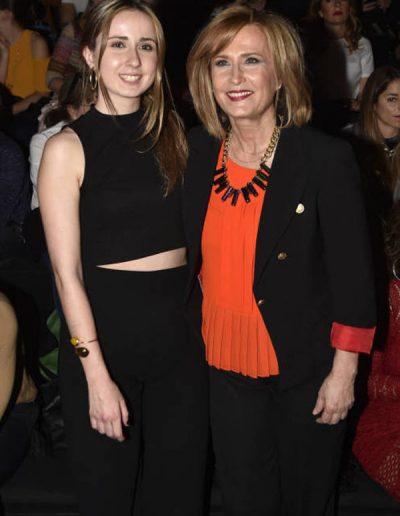Nieves Herrero y su hija Ana Moreno