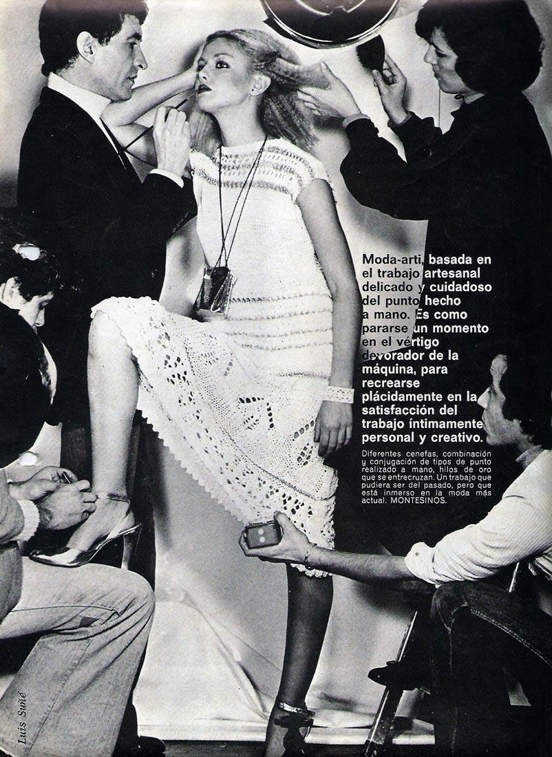 Publicación en la revista Centro Moda, 1977