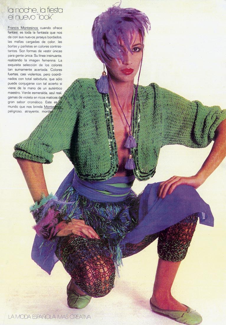 Publicación en la revista Centro Moda nº22, 1979