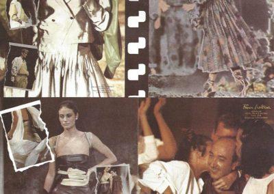 Publicación en la revista Formas, 1985