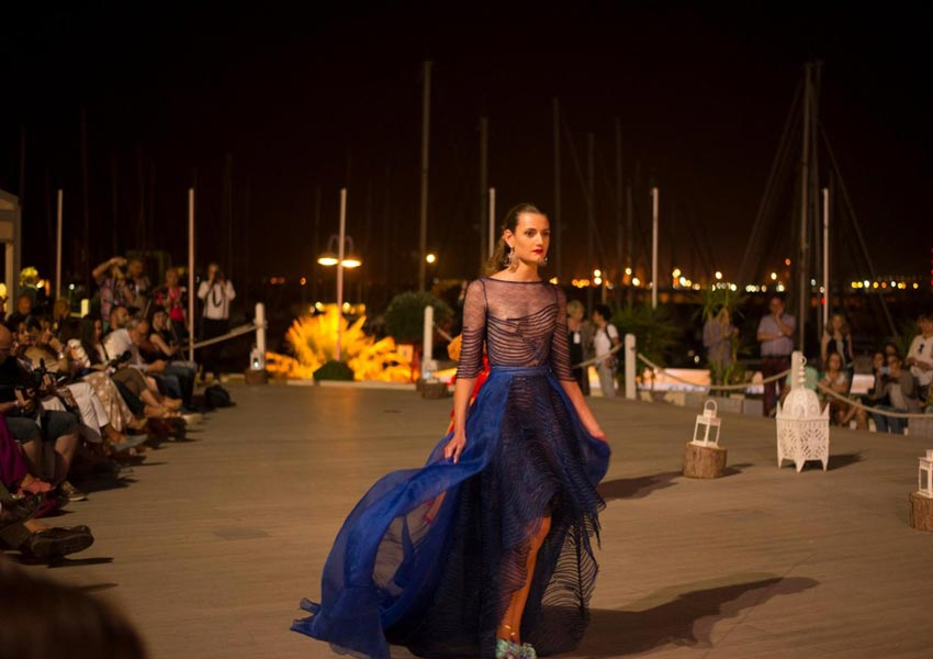 Fashion show in El Puerto de Santa Maria in Cadiz