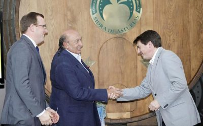 Nominated as Asturian cider Ambassador